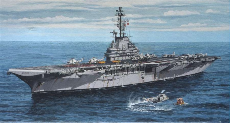 New project USS Hornet CVS 12 Apollo 11 Recovery mission  Rg512110