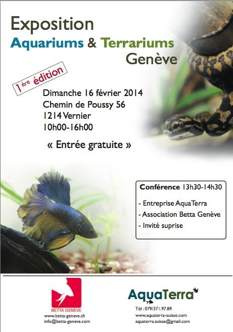 Exposition Aquariums & Terrariums 16 Février Genève  Captur10