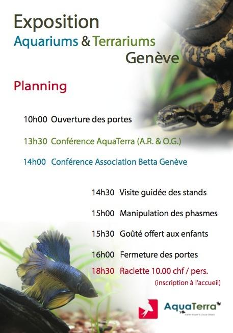 Exposition Aquariums & Terrariums 16 Février Genève  Captur11