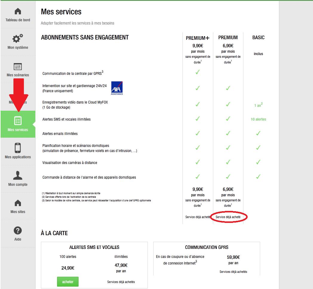Activation service premium Mf10