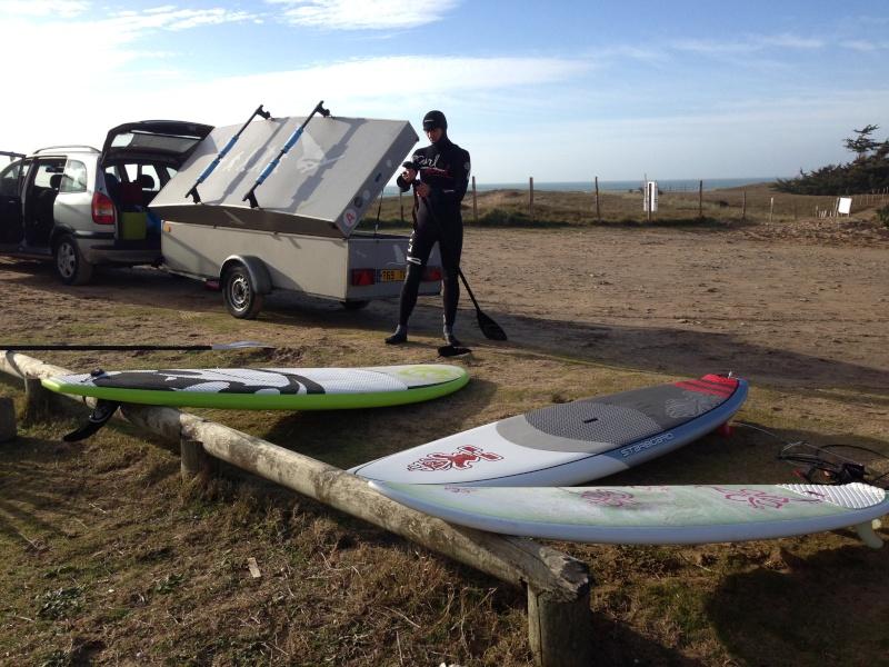 SUP & surf hier quelque part sur l'ile de Ré... Papa10