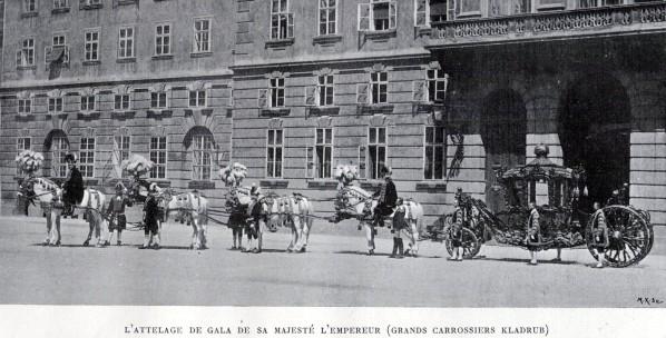 Les carrosses et les calèches impériaux Carros10