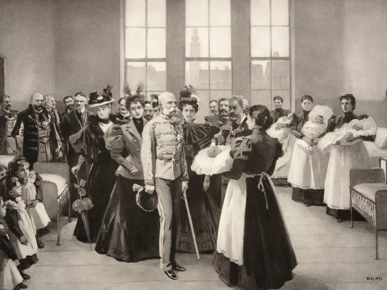 Photos de l'empereur François Joseph 1er d' Autriche Franao10