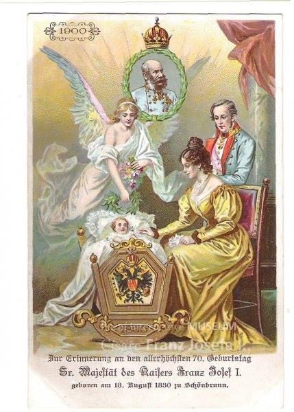 Photos de l'empereur François Joseph 1er d' Autriche Franz11