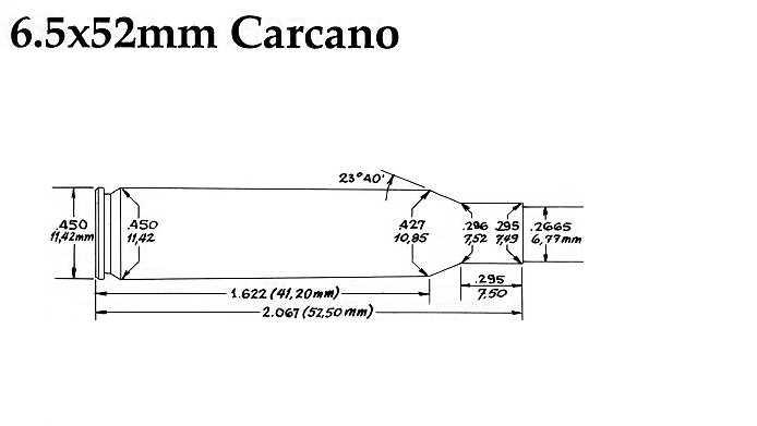 7,35X51 CARCANO Cd65x511
