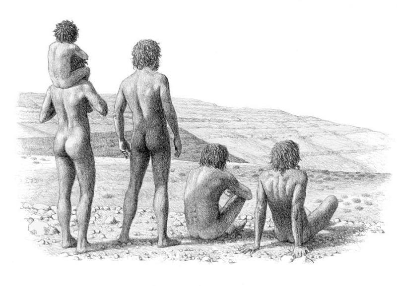 l'image de l'homme préhistorique - Page 8 Homo_e11