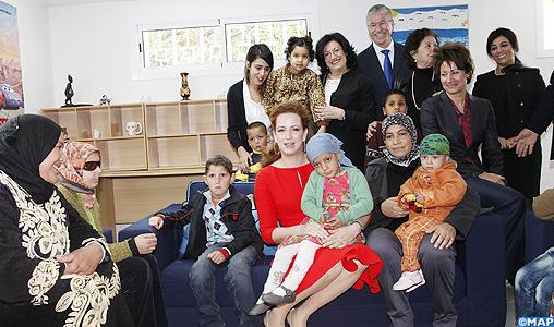 La famille royale Sar-la10