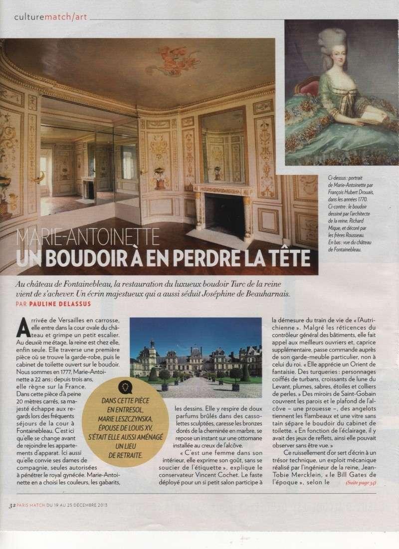 Le boudoir turc de Marie-Antoinette à Fontainebleau Boudoi12