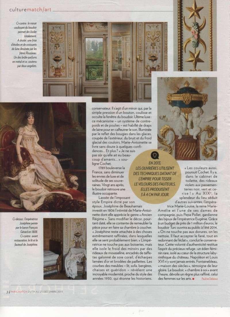 Le boudoir turc de Marie-Antoinette à Fontainebleau Image_11