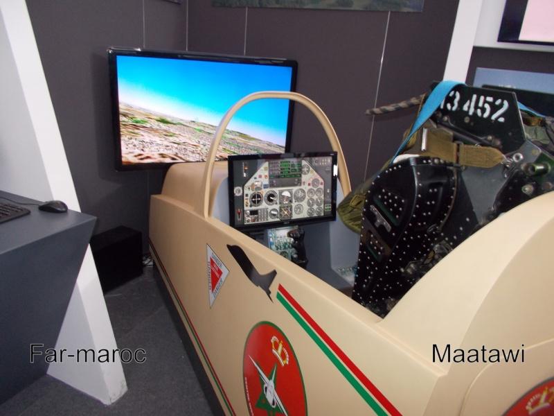 Marrakech Air Show 2014 : Stands FAR / MRM / GR Dscn7110