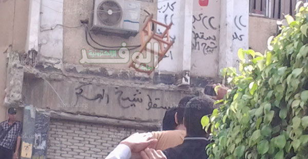 تهريب رئيس جامعة الأزهر بعد اقتحام مكتبه 56543010