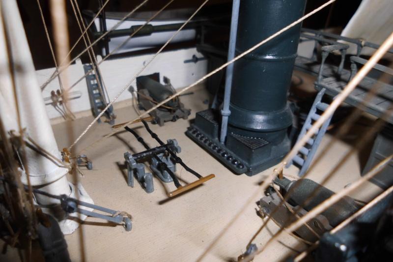 CSS Alabama von Revell in 1:96 Dsci0414