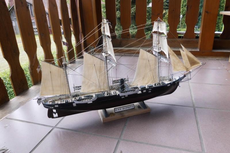 CSS Alabama von Revell in 1:96 Dsci0416
