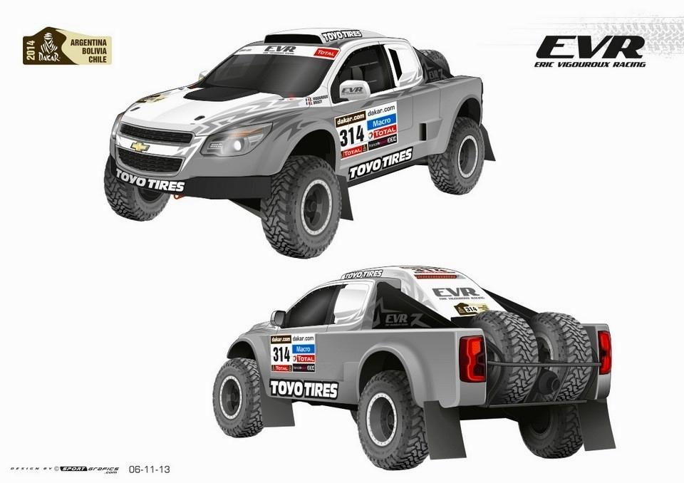 "[Sport] Le Rallye Raid (""Dakar"" etc.) - Page 2 Chevro10"