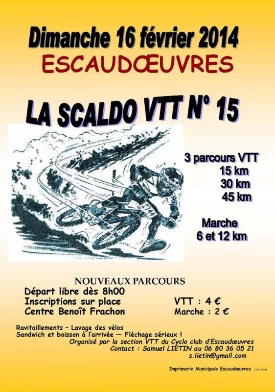 escaudoeuvres 2014 16/02 Affich10