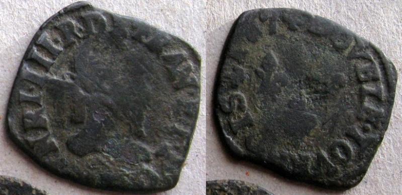 Double-Tournois - Henri III - A identifier Henri_11