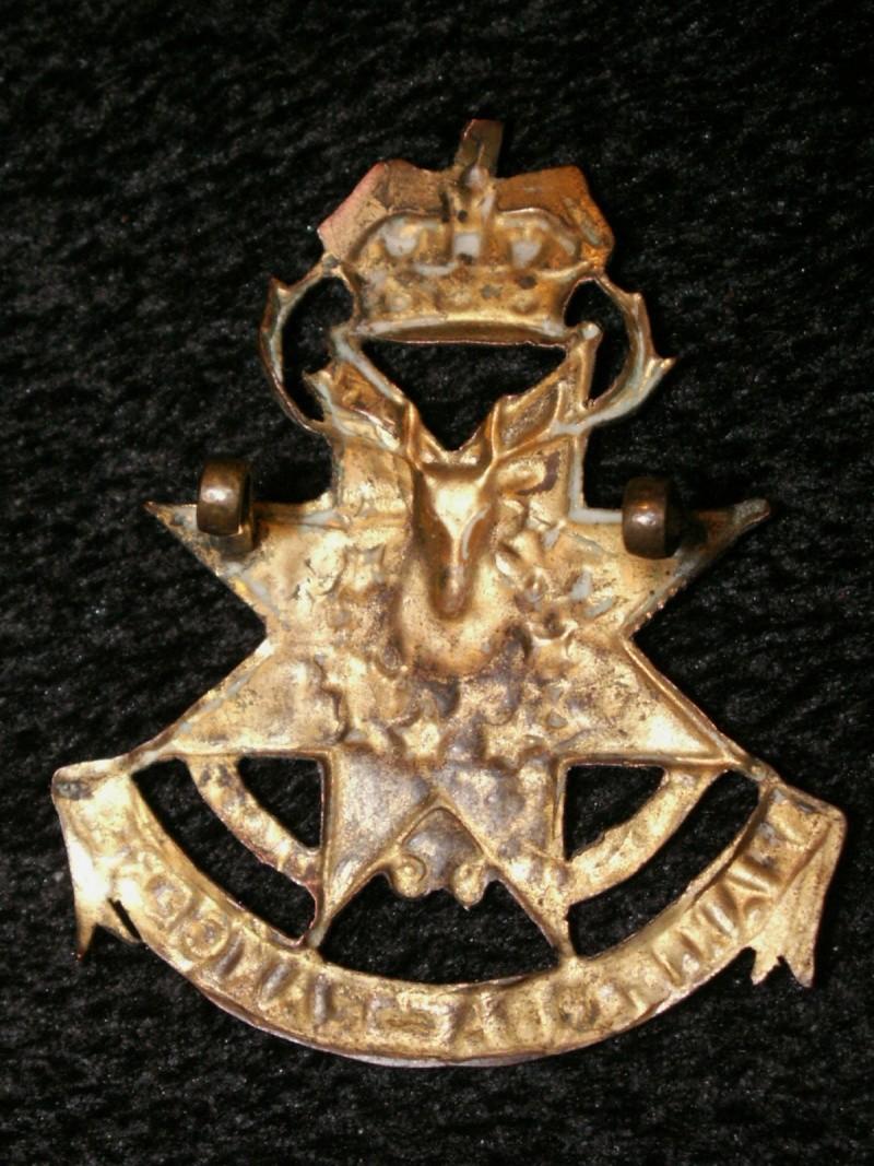99th Manitoba Rangers Cap Badge 99_man10