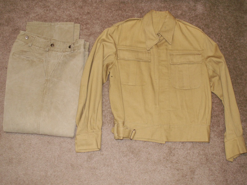 Khaki BD Jacket & Trousers Pic110
