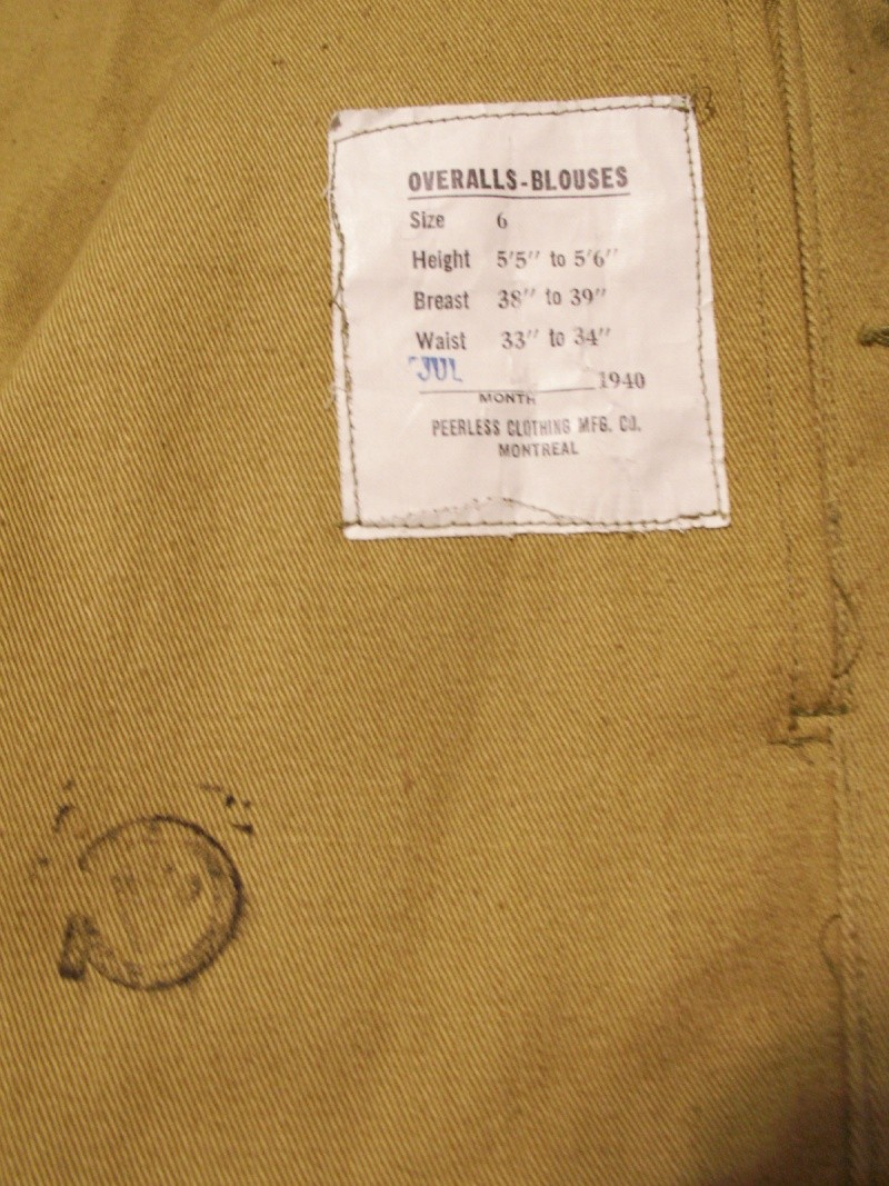 Khaki BD Jacket & Trousers Pic410