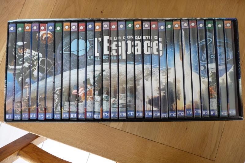 [VENDU] Collection de 28 DVD LA CONQUETE DE L'ESPACE  P1100311