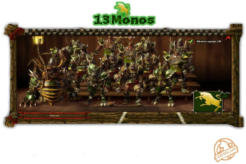 Nº Registro: 004 - Entrenador: Tharsis Tharsi10