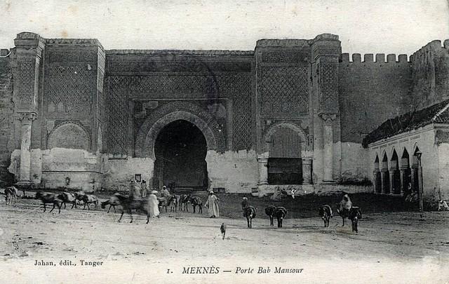 MEKNES, LA VILLE A_a_me14