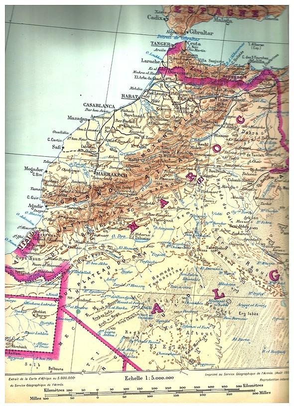 MAROC, Atlas historique, géographique, économique. 1935 Bbscan11