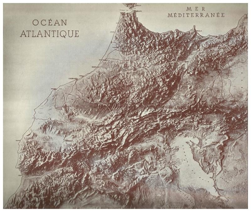MAROC, Atlas historique, géographique, économique. 1935 Bbscan14