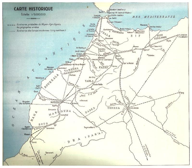 MAROC, Atlas historique, géographique, économique. 1935 Bbscan20