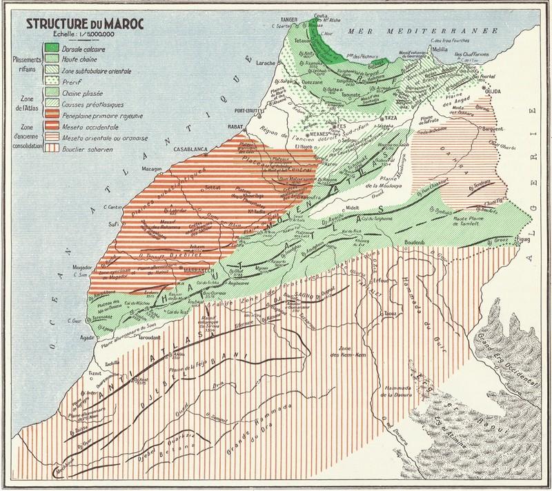 MAROC, Atlas historique, géographique, économique. 1935 Bbscan30