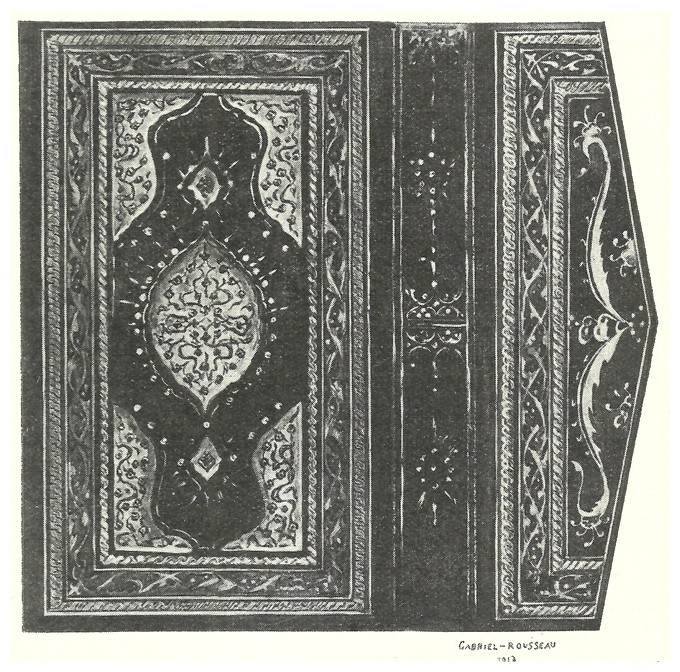 L'Art décoratif musulman, Gabriel-Rousseau, 1934 - Page 7 Dscan_36