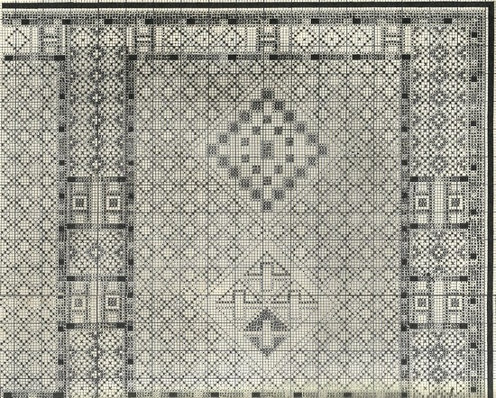 Prosper RICARD : CORPUS DES TAPIS MAROCAINS Tome IV, Tapis divers. Escan_24