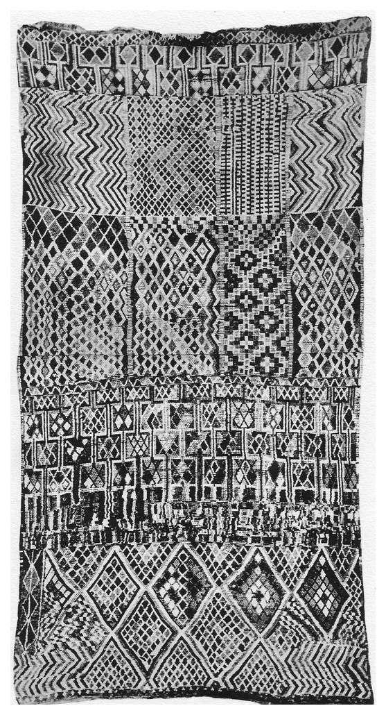 Prosper RICARD : CORPUS DES TAPIS MAROCAINS Tome IV, Tapis divers. - Page 2 Escan_37