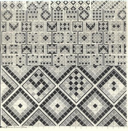 Prosper RICARD : CORPUS DES TAPIS MAROCAINS Tome IV, Tapis divers. - Page 2 Escan_39