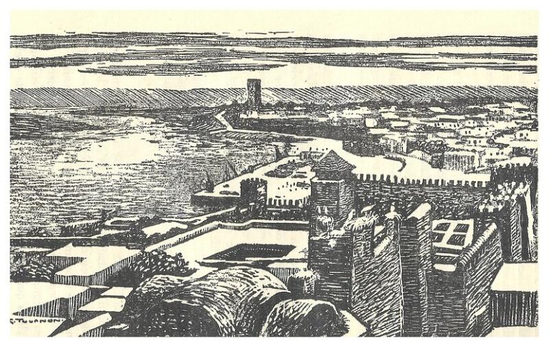 Armand MEGGLE : LE MAROC, Collection des Terres françaises, Dessins de G. TOURNON, 1931. Fascan22