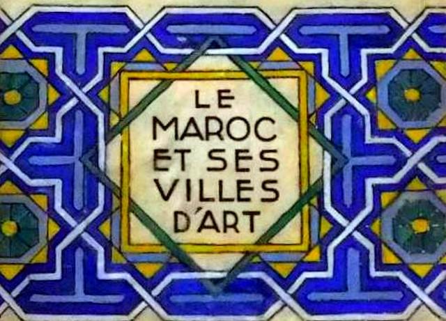 LE MAROC ET SES VILLES D'ART, TANGER, FES ET MEKNES - Page 7 Fscan229