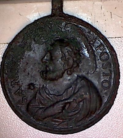 Médaille St-Paul / St-Pierre - XVIIIème Med110