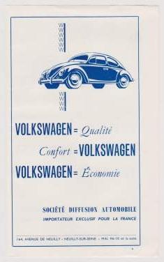 Vw en France - la concession VW Diffusion à Neuilly Autodi10