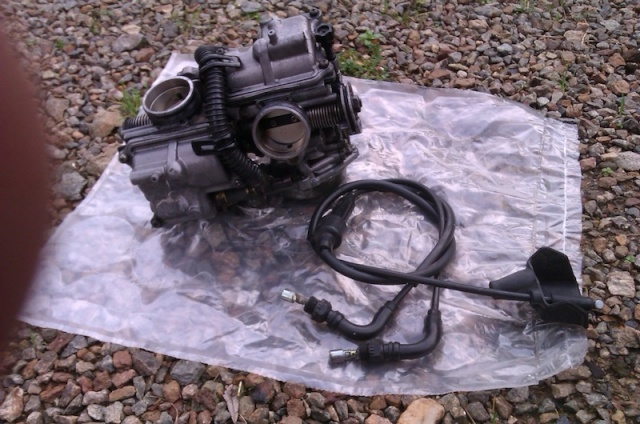 Vends Carburateurs de Transalp, XL 600 V, modèle PD06. Imag0110