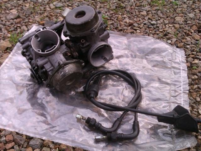 Vends Carburateurs de Transalp, XL 600 V, modèle PD06. Imag0111