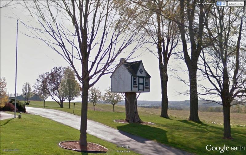 Cabane dans un arbre, Baldwinsville - Royaume-Uni Cabane10