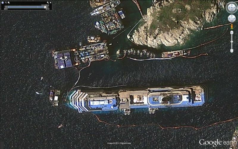 L'épave du Costa-Concordia. Un paquebot géant s'échoue en Italie - Page 4 Conc210