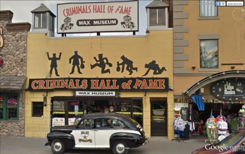 Musée des criminels/gangsters Niagara falls Canada Crimi10