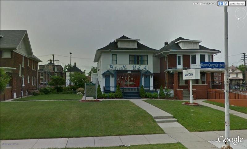 Motown, Détroit, Illinois - USA Mo110