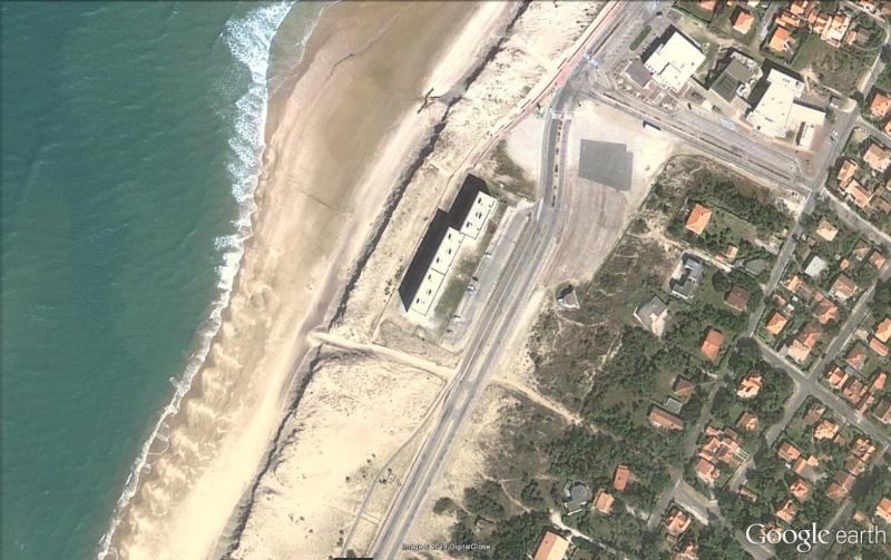 ( Bientôt visible sur Google earth ) La dune Soulac Gironde France Signal10