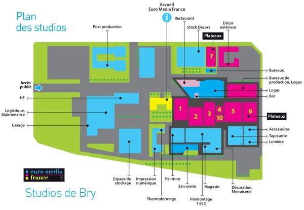 Studios SFP Bry sur Marne France Studio10