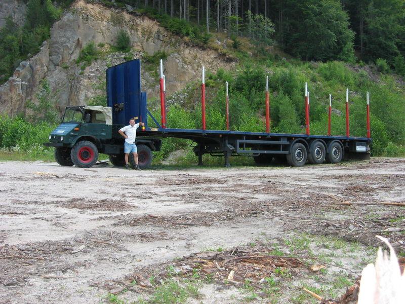 unimog mb-trac wf-trac pour utilisation forestière dans le monde - Page 30 149-4911