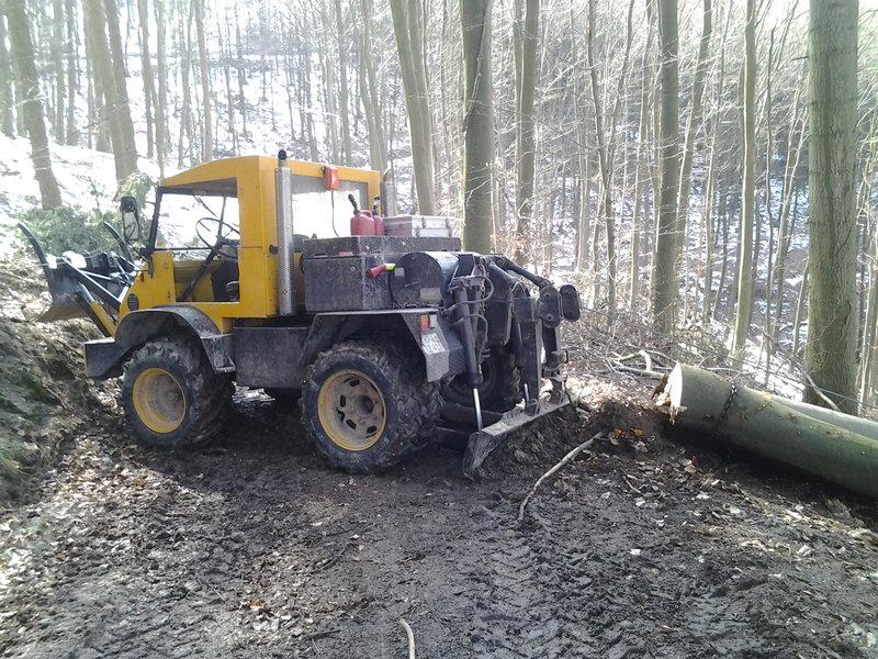 unimog mb-trac wf-trac pour utilisation forestière dans le monde - Page 30 16839710
