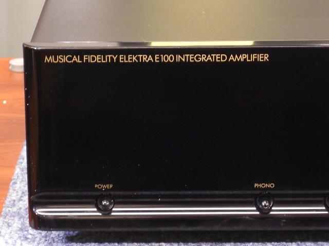 Musical Fidelity Elektra E100 Integrated Amplifier Mf71010