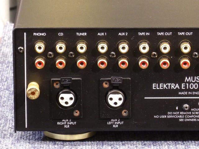 Musical Fidelity Elektra E100 Integrated Amplifier Mf91010